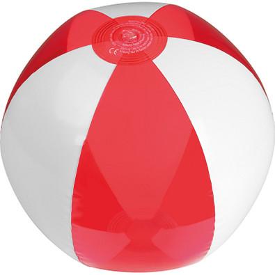 Strandball bicolour, phthalatfrei, rot