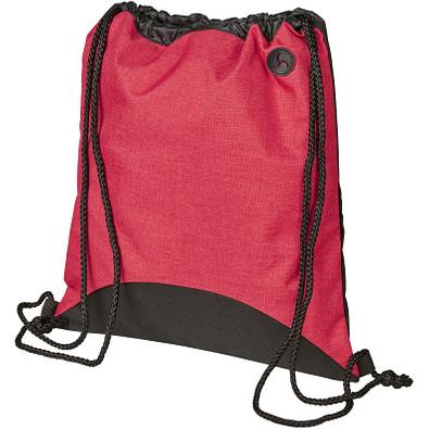 Street Rucksack mit Kordelzug, rot