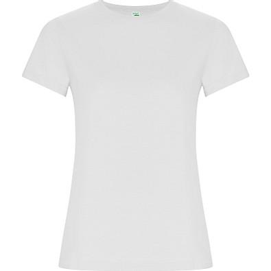 T-Shirt Golden Woman, weiß, M