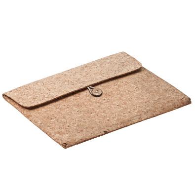 """Tablet-PC Tasche """"Kork"""" für Display-Größe 25,65 cm (10,1""""), braun"""