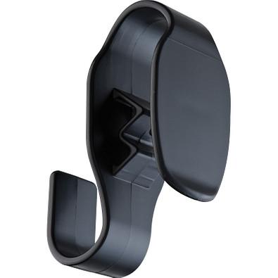 Taschenhalter aus Kunststoff für Trolleys, schwarz