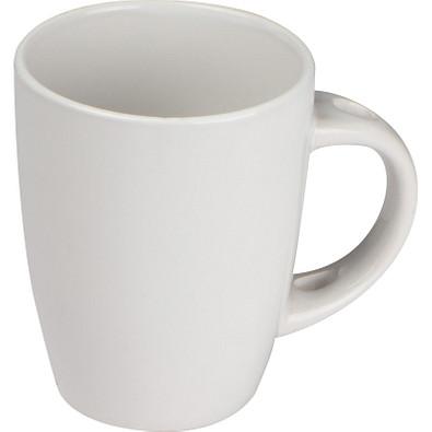 Tasse aus Keramik, 350 ml, weiss