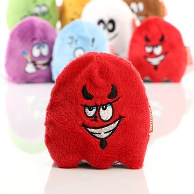 Minifeet® Displayreiniger Schmoozies, Teamgeist mit Anti-Stress-Funktion, rot