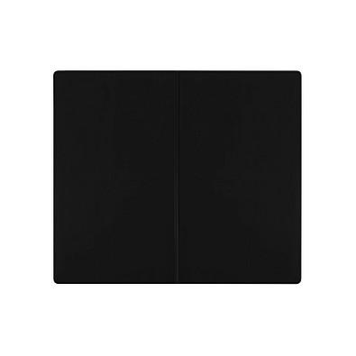 THANXX® Flugtickettasche Ticket1 Normalfolie, schwarz
