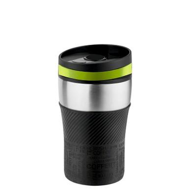 METMAXX® Thermobecher Voila, 250 ml, schwarz/apfelgrün