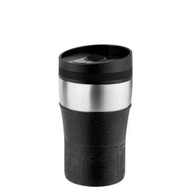 METMAXX® Thermobecher Voila, 250 ml, schwarz/schwarz