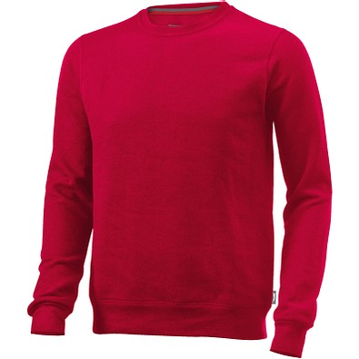 Slazenger™ Unisex Sweatshirt Toss mit Rundhalsausschnitt, rot, XL