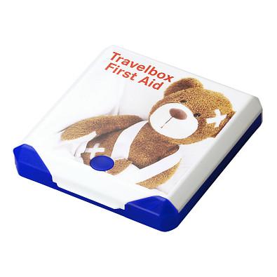 Travelbox First Aid, trend-blau PP