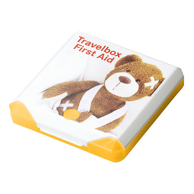 Travelbox First Aid, trend-gelb PP