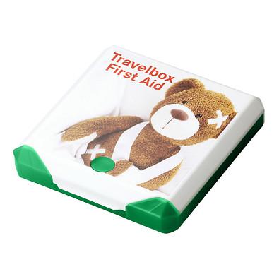 Travelbox First Aid, trend-grün PP