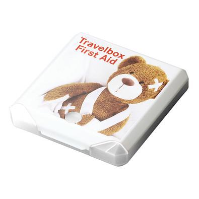 Travelbox First Aid, weiß