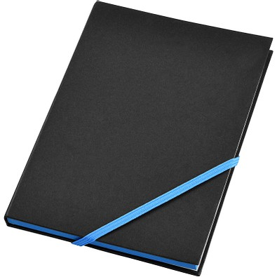 Travers DIN A5 Notizbuch, schwarz,blau