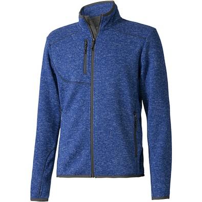 ELEVATE Herren Strickfleece Jacke Tremblant, blau, XL