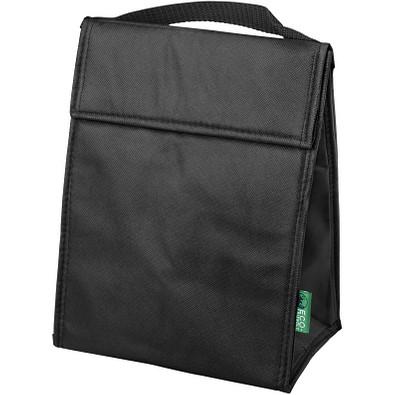 Triangle NonWoven Lunch Kühltasche, schwarz