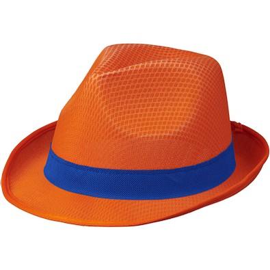 Trilby Set, orange,blau