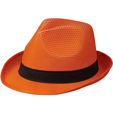 Trilby Set, orange,schwarz