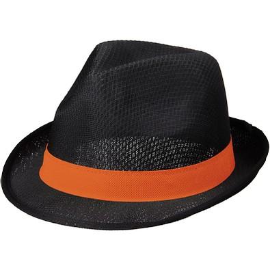 Trilby Set, schwarz,orange