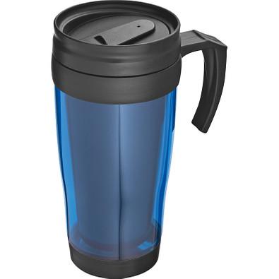 Trinkbecher aus Kunststoff, 400 ml, blau