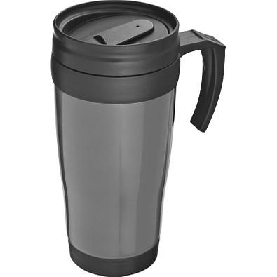 Trinkbecher aus Kunststoff, 400 ml, grau