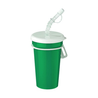 Trinkbecher Take Away, 400 ml, standard-grün