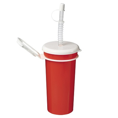 Trinkbecher Take Away 0,5 l, standard-rot