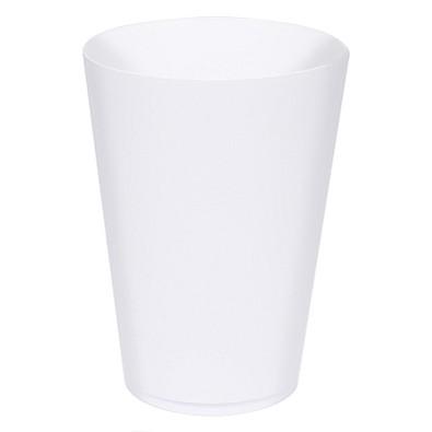 Trinkbecher Turin, 400 ml, weiß