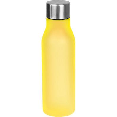 Trinkflasche aus Kunststoff, 550 ml, gelb
