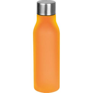 Trinkflasche aus Kunststoff, 550 ml, orange