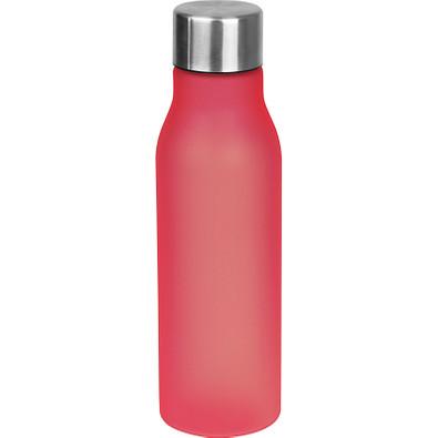 Trinkflasche aus Kunststoff, 550 ml, rot