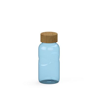 """Trinkflasche Carve """"Natural"""" Colour 0,5 l, transparent-blau"""