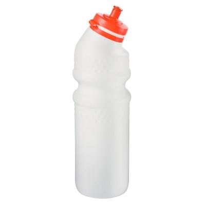 Trinkflasche Fahrrad mit Saugverschluss, 700 ml, weiß
