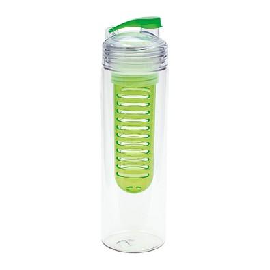 retumbler® Trinkflasche mit Fruchtbehälter Jolietta, 700 ml, grün