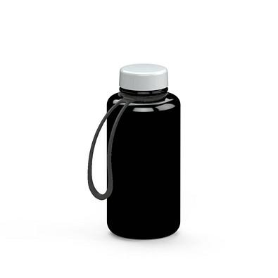 """Trinkflasche """"Refresh"""" Colour inkl. Strap, 0,7 l, schwarz"""