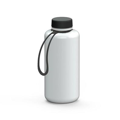 """Trinkflasche """"Refresh"""" Colour inkl. Strap, 1,0 l, weiß"""