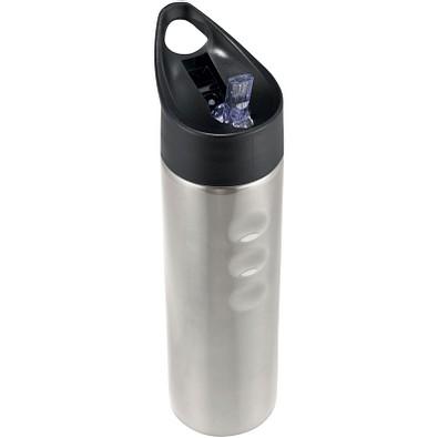 Trixie Edelstahl Sportflasche, 750 ml, silber