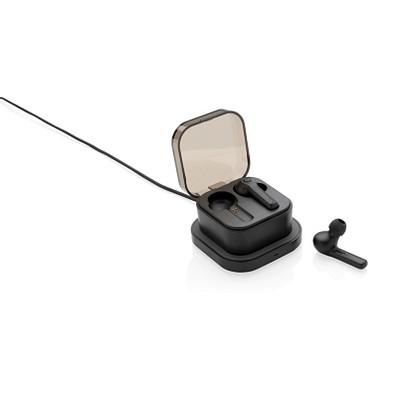 XD COLLECTION TrueWireless Ohrhörer in kabelloser Ladebox, schwarz