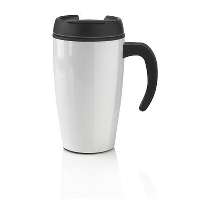 XD DESIGN Urban Becher, 400 ml, weiß/schwarz