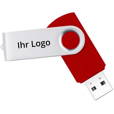 USB-Stick in Metallbox, 16 GB, rot