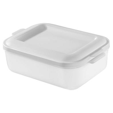 Vorratsdose Brot-Box, transparent-milchig