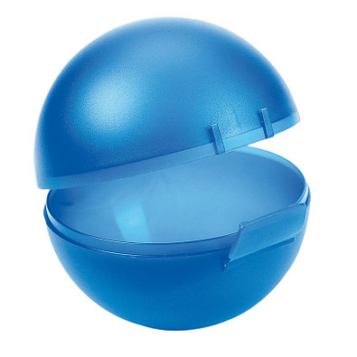 Vorratsdose Orangen-Box, trend-blau PP