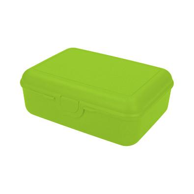 Vorratsdose School-Box deluxe, mit Trennschale, lemon