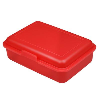 Vorratsdose School-Box mittel, trend-rot PP