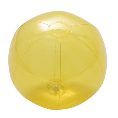 "Wasserball ""Midi"" transparent, transparent-gelb"