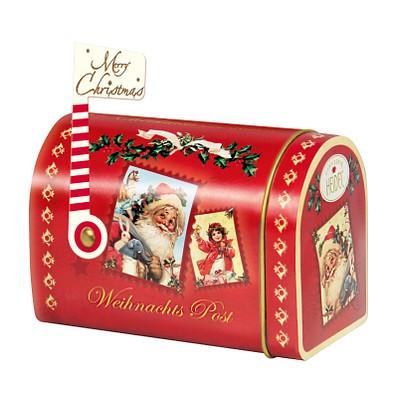 CONFISERIE HEIDEL Weihnachts-Mailbox, rot