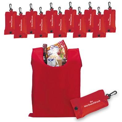 Werbe-Sparset: Einkaufstaschen, 100-tlg., inkl. Druck, rot