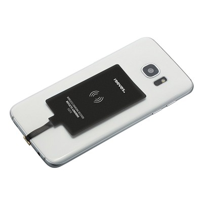 reeves® Wireless Charging Receiver Londrina, micro-USB, schwarz