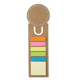 Haftnotiz-Lesezeichen, Natur inkl. 1-farbigem Druck