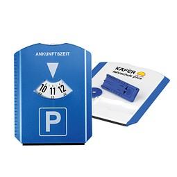 Parkscheibe Funktion, blau inkl. 4c Digitaldruck