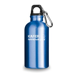 Trinkflasche Outdoor, Blau inkl. Gravur