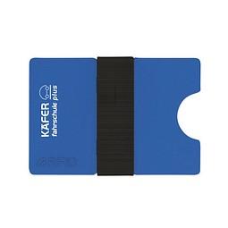 Mini-Portemonnaie iWallet Compact, Blau inkl. 1-farbigem Druck